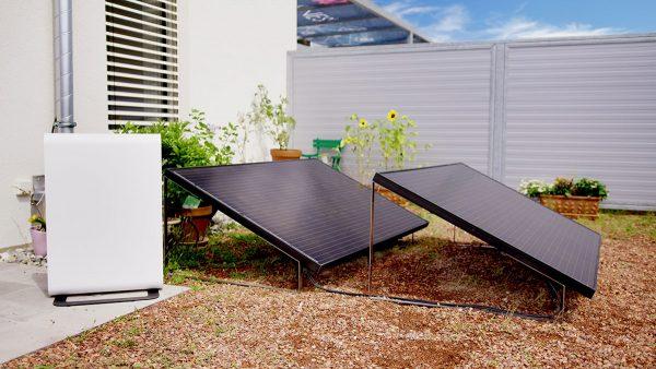 Solarpanel für Garten Terrasse Camping